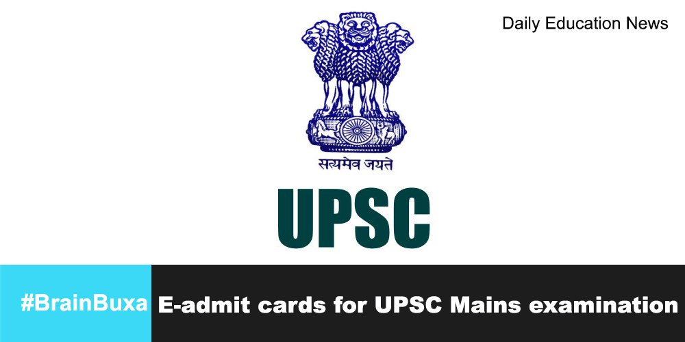 Image of E-admit cards for UPSC Mains examination | Education News Photo