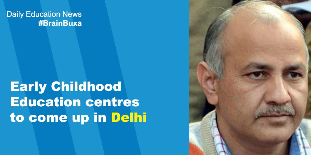 Early Childhood Education centres to come up in Delhi