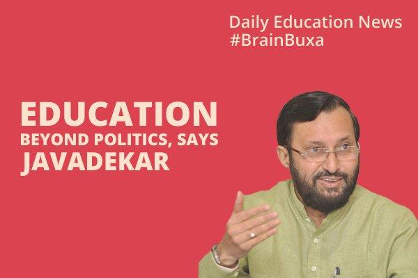 Education Beyond Politics, Says Javadekar