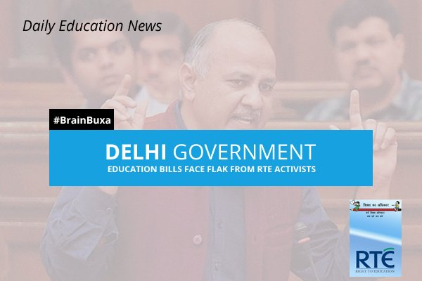 Delhi Government education bills face flak from RTE activists