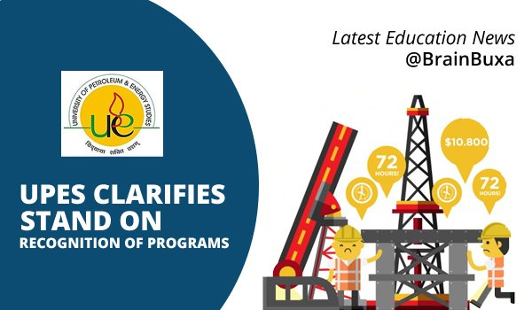 UPES Clarifies Stand on Recognition of Programs