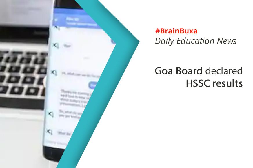 Goa Board declared HSSC results