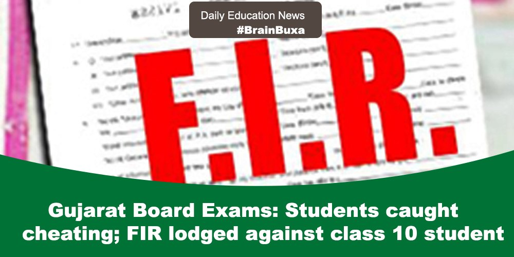 Image of Gujarat Board Exams: Students caught cheating; FIR lodged against class 10 student | Education News Photo