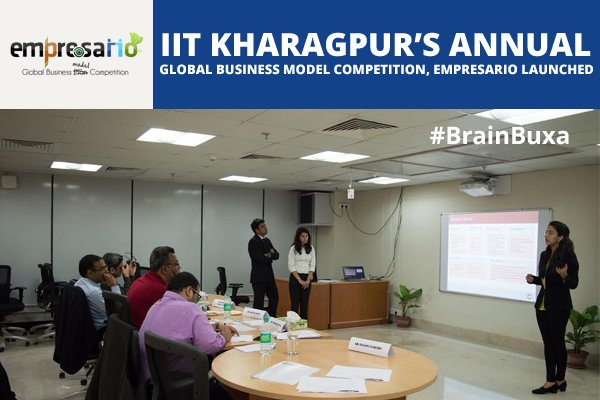 Image of IIT Kharagpur's Annual Global Business Model Competition, Empresario Launched | Education News Photo