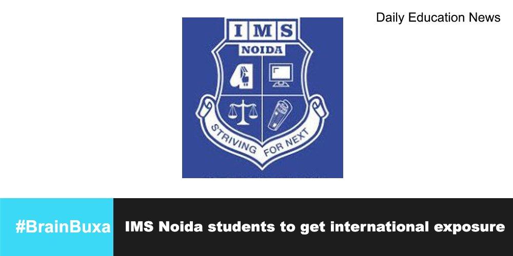 Image of IMS Noida students to get international exposure | Education News Photo