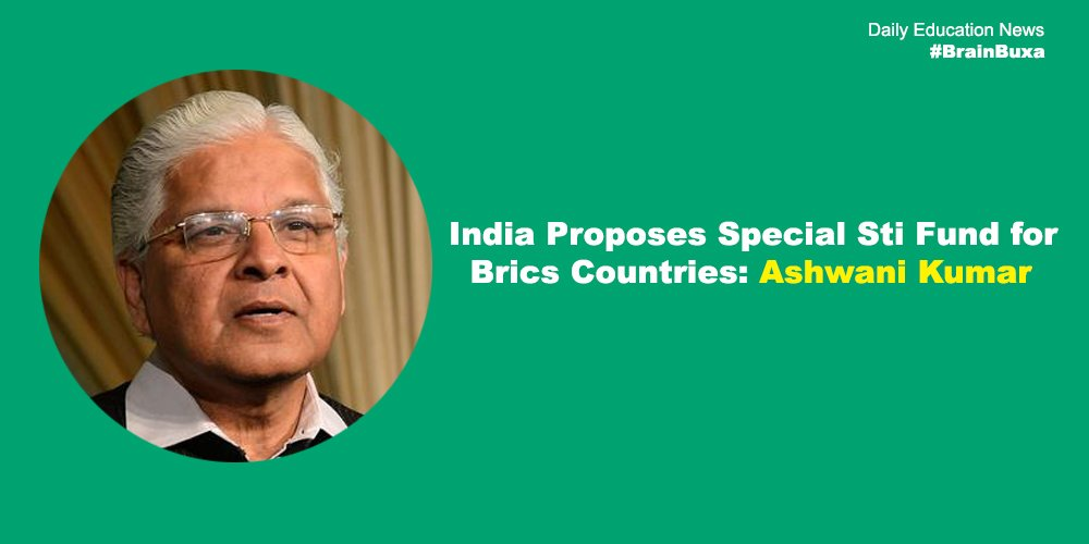 Image of India Proposes Special Sti Fund for Brics Countries: Ashwani Kumar | Education News Photo