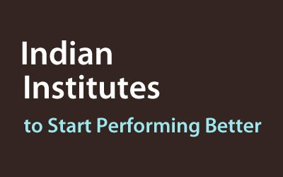 Image of Indian Institutes to Start Performing Better | Education News Photo