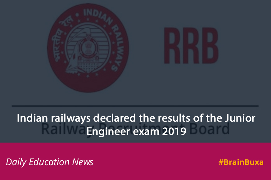 Image of Indian railways declared the results of the Junior Engineer exam 2019 | Education News Photo