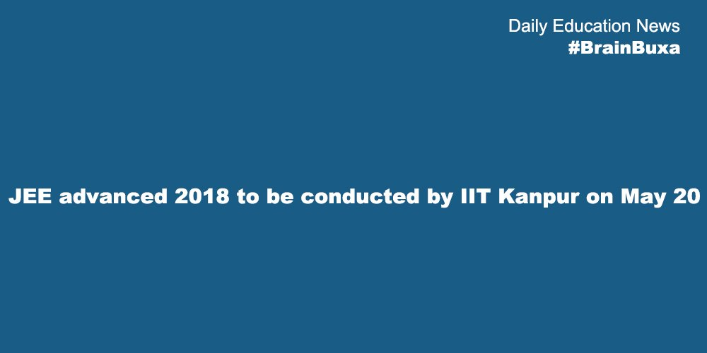 JEE 2018 exam to be held online; Website opens