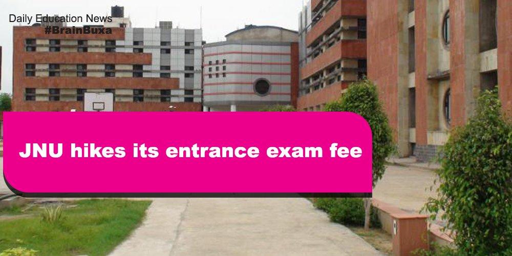 Image of JNU hikes its entrance exam fee | Education News Photo