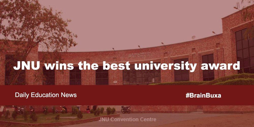 Image of JNU wins the best university award | Education News Photo