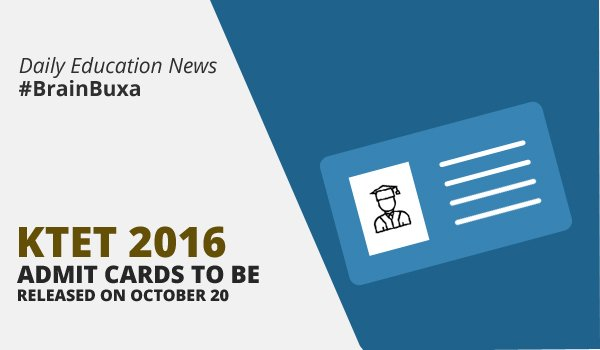 Image of KTET 2016: Admit cards to be released on October 20 | Education News Photo
