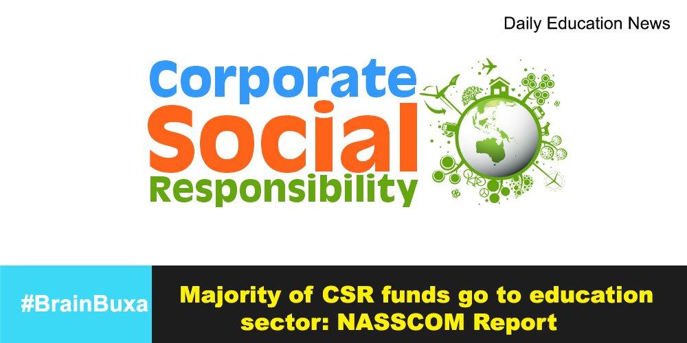 Majority of CSR funds go to education sector: NASSCOM Report