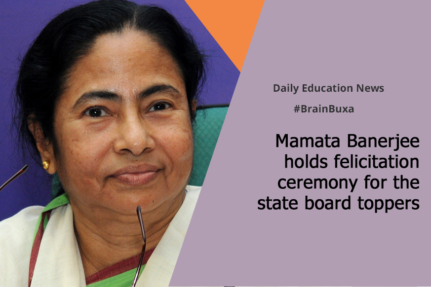 Mamata Banerjee holds felicitation ceremony for the state board toppers