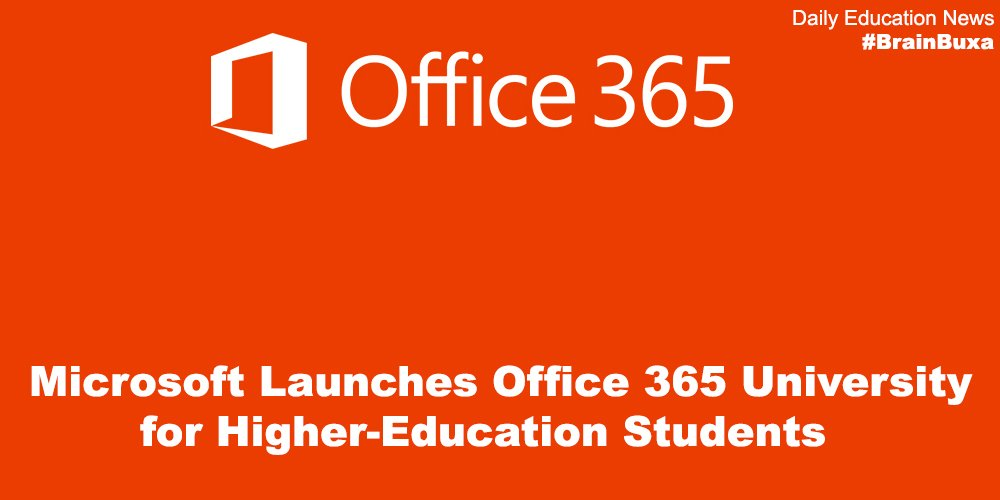 Microsoft Launches Office 365 University for Higher-Education Students