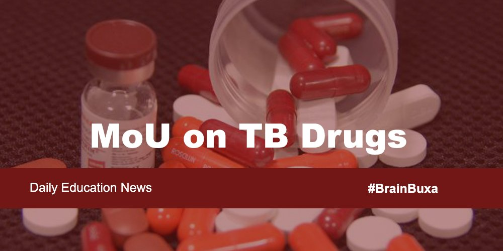 Image of MoU on TB Drugs  | Education News Photo