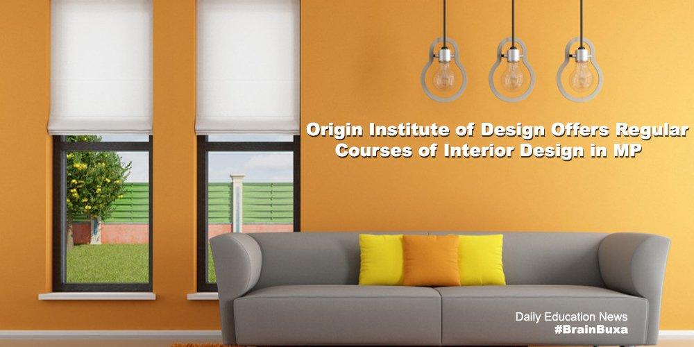 Origin Institute of Design Offers Regular Courses of Interior Design in MP