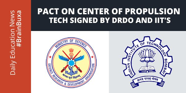 Pact On Center Of Propulsion Tech Signed By DRDO And IIT'S
