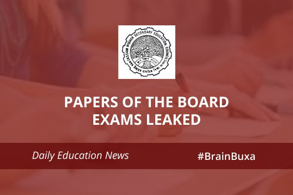 Image of Papers of the board exams leaked   Education News Photo