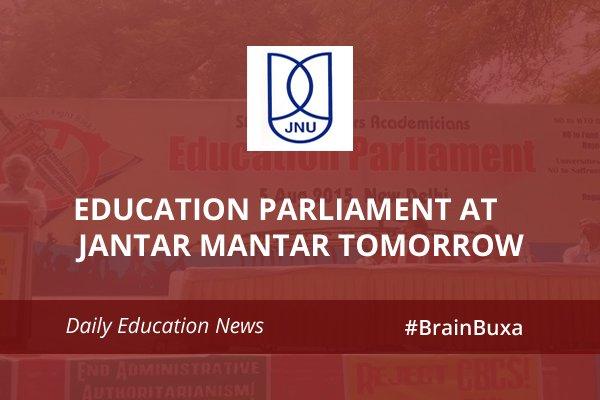 Image of Education Parliament at Jantar Mantar tomorrow | Education News Photo