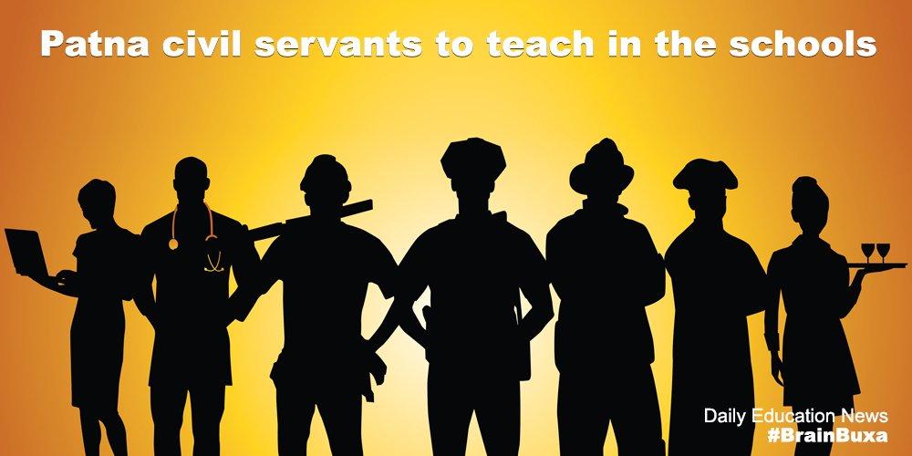 Patna civil servants to teach in the schools