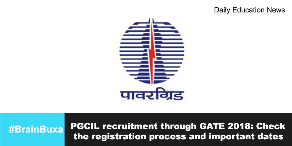 PGCIL recruitment through GATE 2018: Check the registration process and important dates