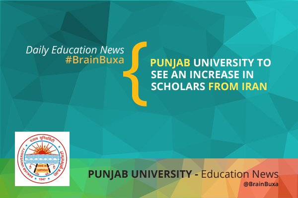 Punjab University to see an increase in scholars from Iran