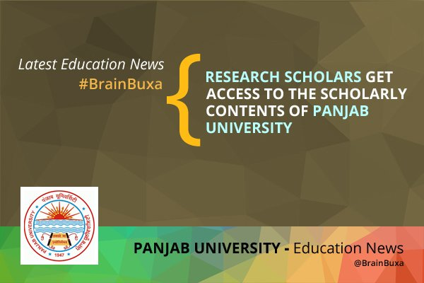 Image of Research scholars get access to the scholarly contents of Panjab University | Education News Photo