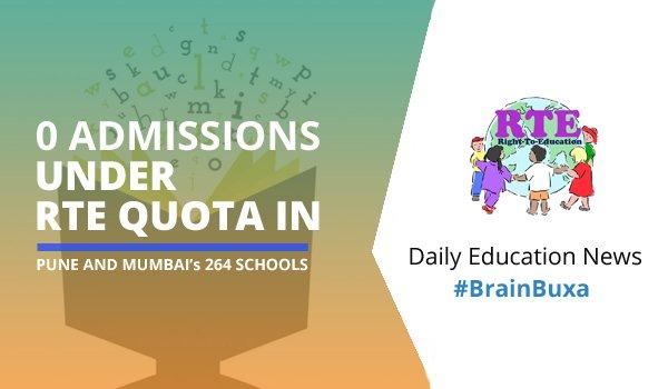 Image of 0 admissions under RTE quota in Pune and Mumbai's 264 schools | Education News Photo