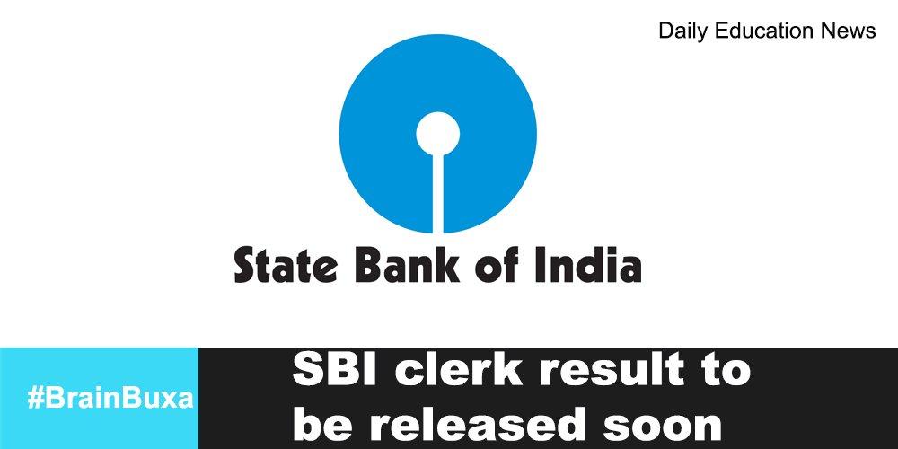 SBI clerk result to be released soon