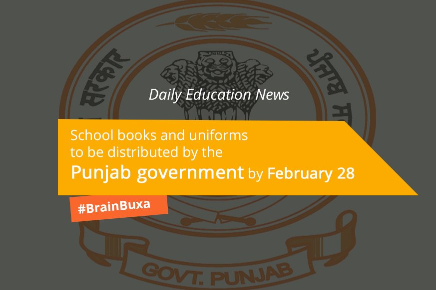 School books and uniforms to be distributed by the Punjab government by February 28
