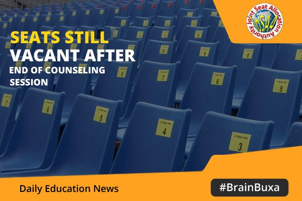 Image of Seats Still Vacant After End of Counseling Session | Education News Photo