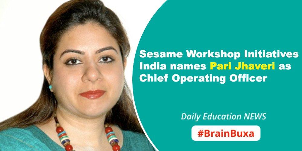 Image of Sesame Workshop Initiatives India names Pari Jhaveri as Chief Operating Officer | Education News Photo