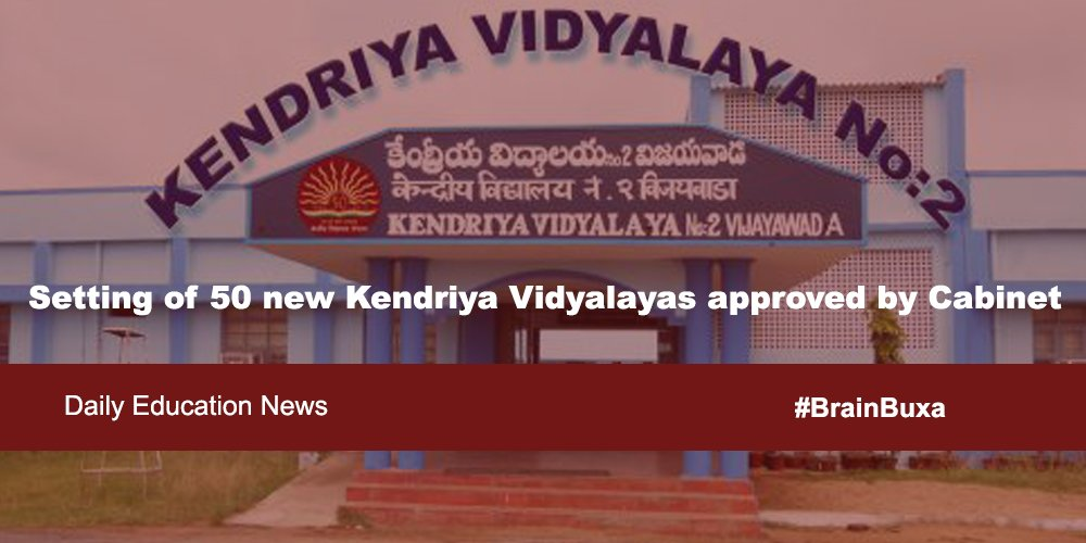 Image of Setting of 50 new Kendriya Vidyalayas approved by Cabinet | Education News Photo