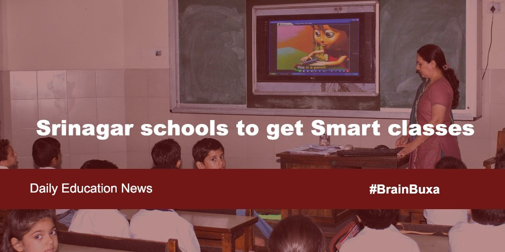 Image of Srinagar schools to get Smart classes  | Education News Photo