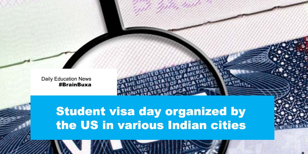 Image of Student visa day organized by the US in various Indian cities | Education News Photo