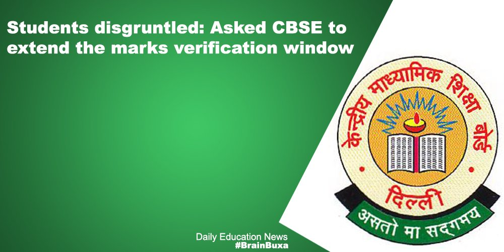 Image of Students disgruntled: Asked CBSE to extend the marks verification window | Education News Photo