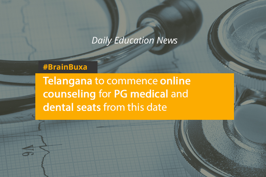 Image of Telangana to commence online counseling for PG medical and dental seats from this date | Education News Photo