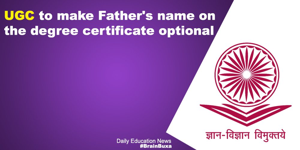 Image of UGC to make Father's name on the degree certificate optional | Education News Photo