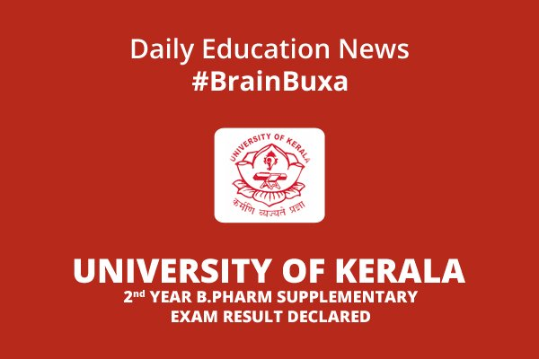 Image of University of Kerala 2nd year B.Pharm supplementary exam result declared | Education News Photo