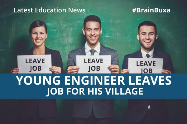 Image of Young engineer leaves job for his village | Education News Photo